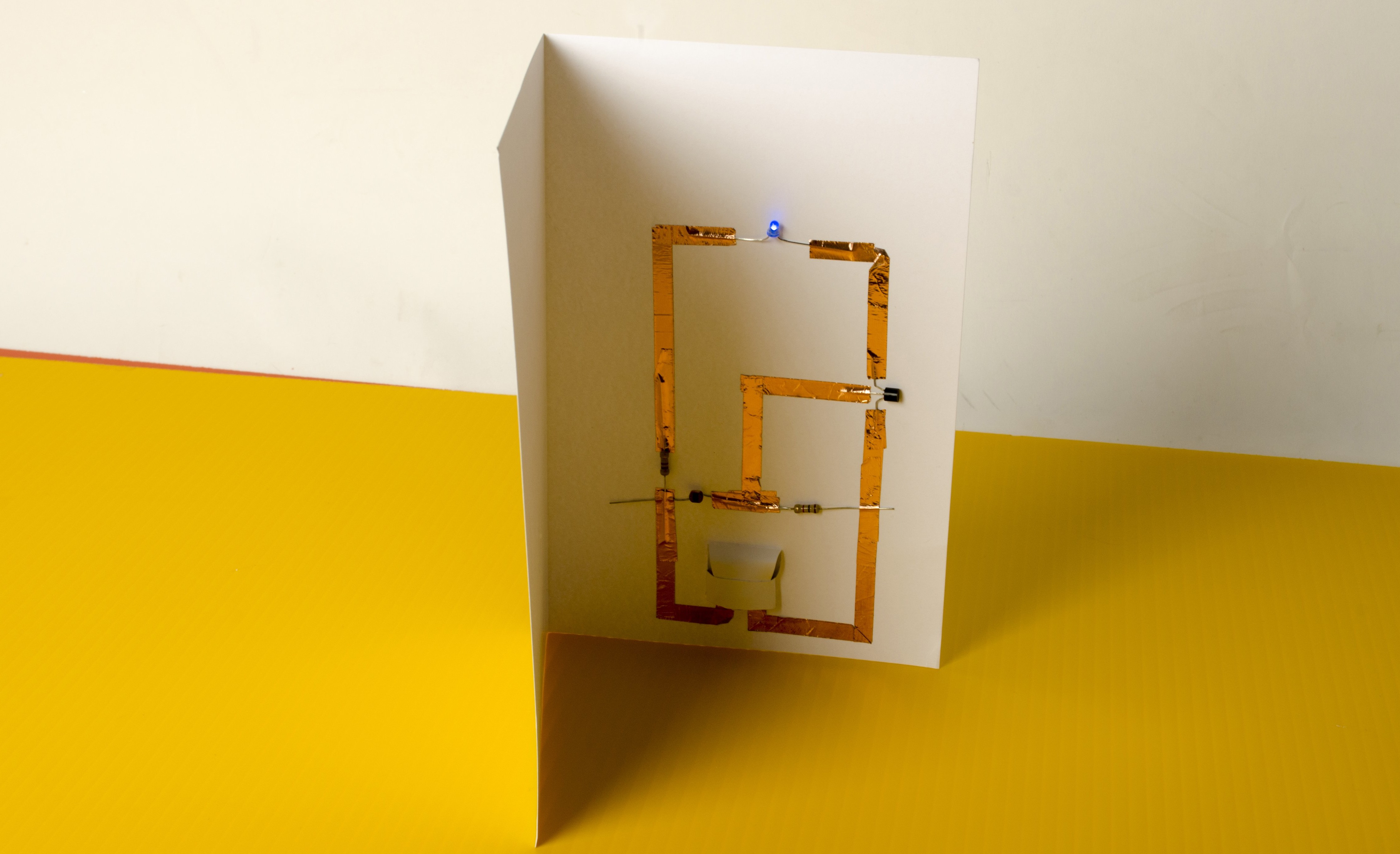 Make Led Greeting Cards Without Soldering Make