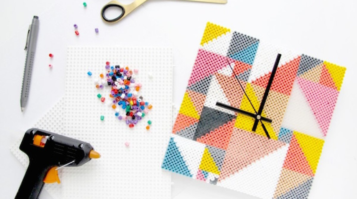 Craft Your Decor: DIY Perler Bead Clock