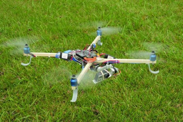 Build a Quadcopter Drone with a Self-leveling Camera Gimbal — Share your mutual love of drones! You can build this hardware-store airframe together in a weekend.