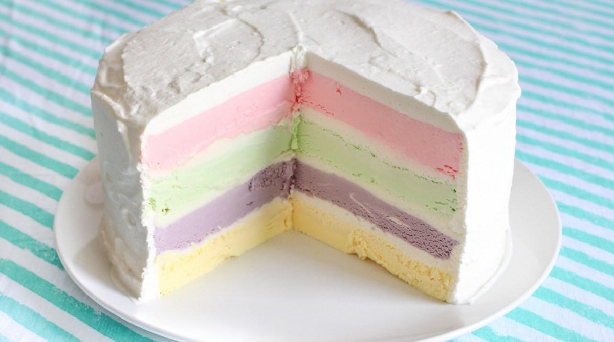 Personalized Ice Cream Cake