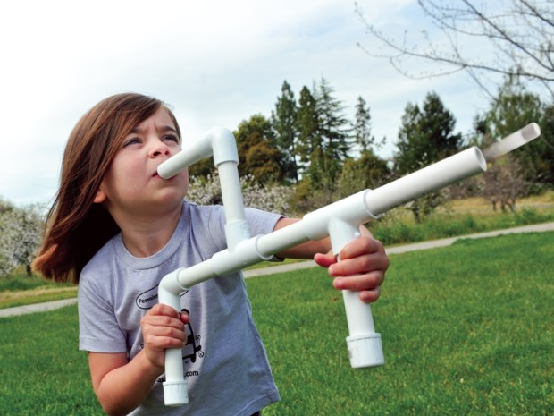 Marshmallow Shooters — Rain down gooey destruction on your foes/family members with this simple, lung-powered toy.