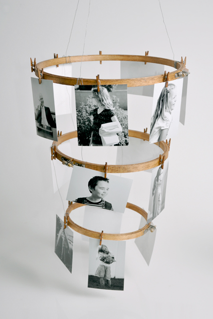 Craft Some Style: Embroidery Hoop Photo Display