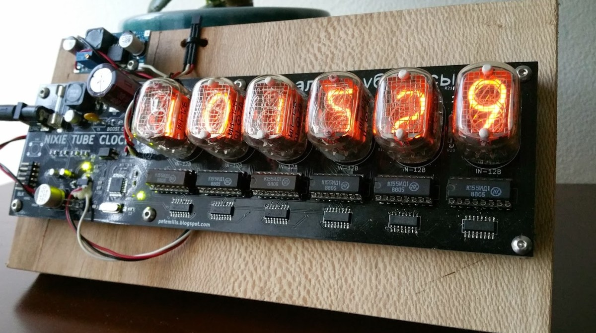 Check Out This Beautifully Quirky Nixie Tube Clock Make Schematic Page 2 Article Featured Image