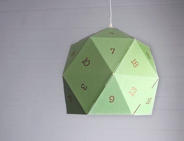 IKEA Hack: DIY D20 Pendant Lamp