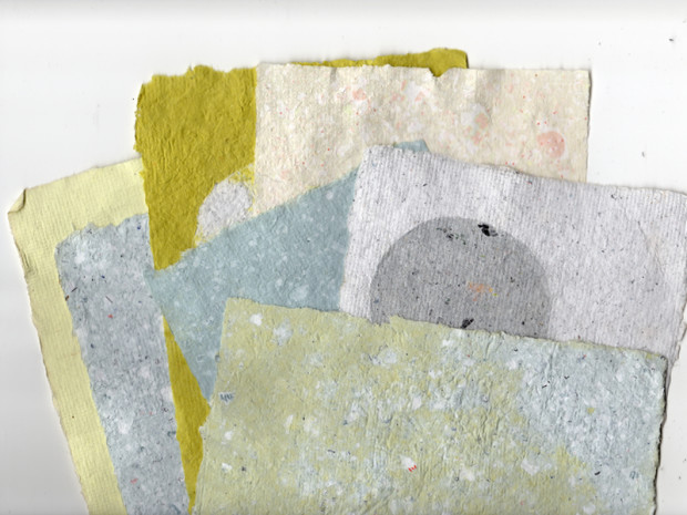Paper Making 101 — Recycle your unwanted bills and junk mail into custom-made paper for drawing, making mini books, or personalized Father's Day cards.