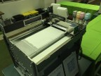 Tdot 10k inkjet powder binding 3D printer with the cover off.