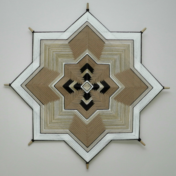 "This was a ""custom order specified to match an Ojo de Dios from the 1970's"" (8-sided, 24"")."