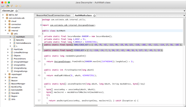 Android-SDK-Decompiled-2-AuthMath