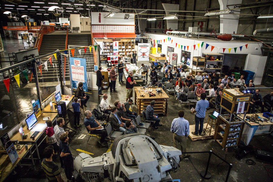 Call for Makers: Come Teach or Speak at Maker Media Lab