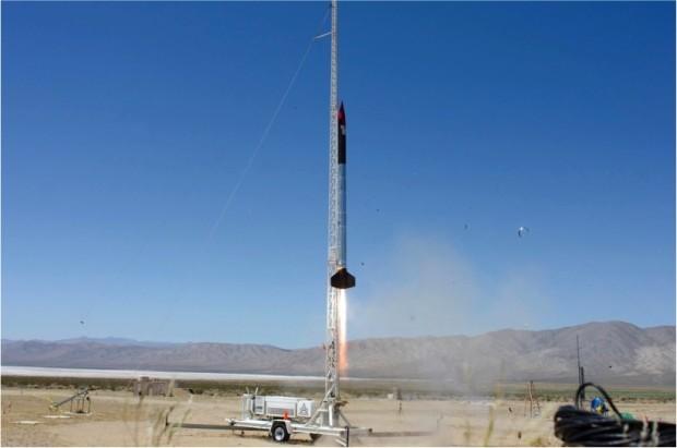 Photo: Courtesy of the SDSU Rocket Project