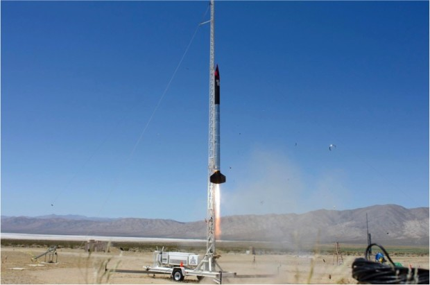 Photo: Courtesy of the SDSU Rocket Project