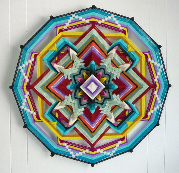 """Butterfly World (12-sided, 18"""")."""