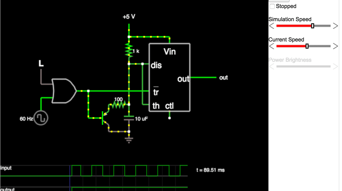 Design Circuits Easily With Web Based Circuit Simulator