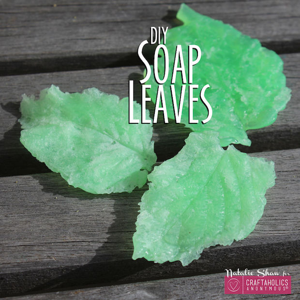 Cute and Clean: Make Your Own DIY Soap Leaves