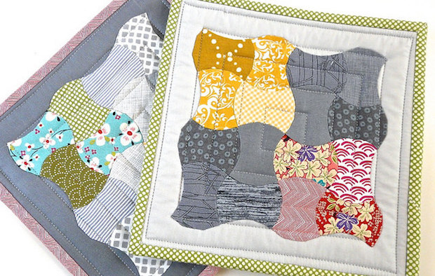 Quilting Basics: EPP Quilting with Curved Shapes
