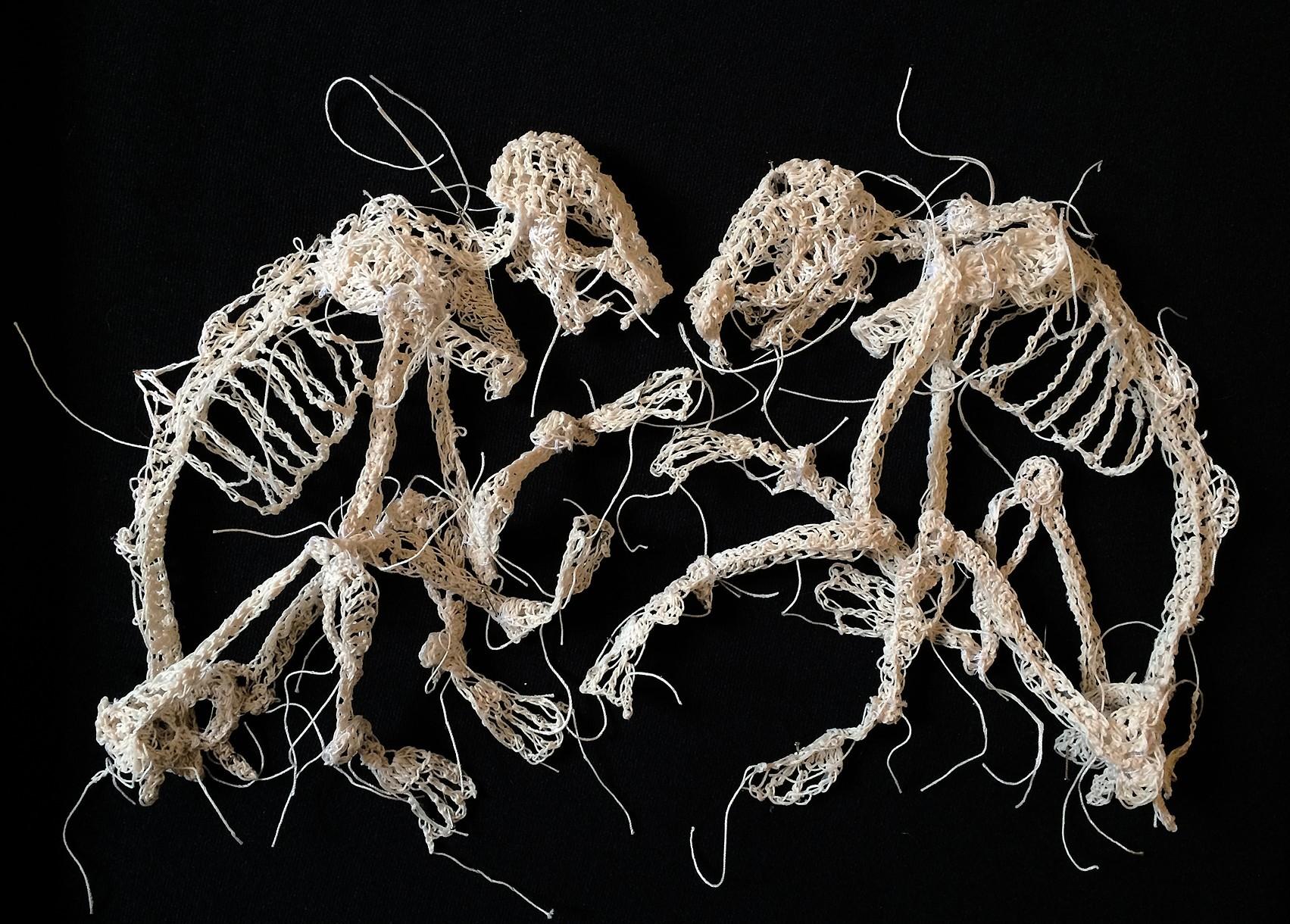 Artist Crochets Crazy Creepy Creatures