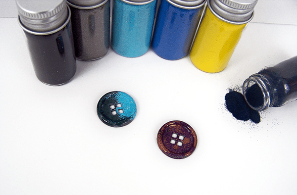 Custom Notions: Embossed Metal Buttons