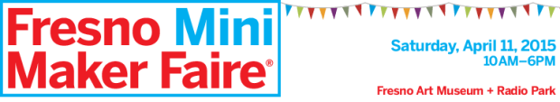 fresno mini maker faire banner