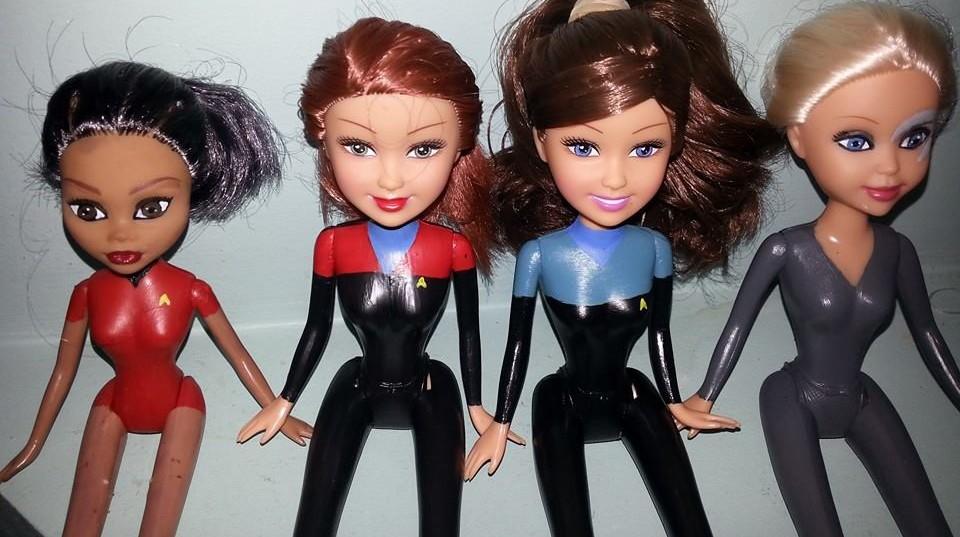 Mom Transforms Dolls into Sci-Fi Heroines