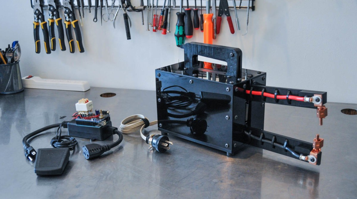 Upcycle a Microwave into a Spot Welder