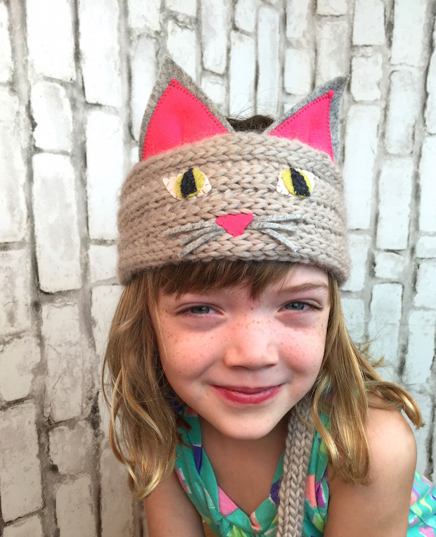 Kid Knits: Kitty Cat Headband