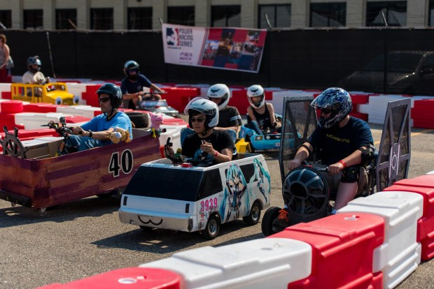 """""""Power Racing is like a Dollar Store Formula 1"""" says the events founder James Burke"""