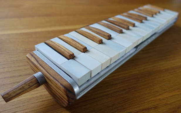 You Won T Believe This Beautiful Melodica Is 3d Printed