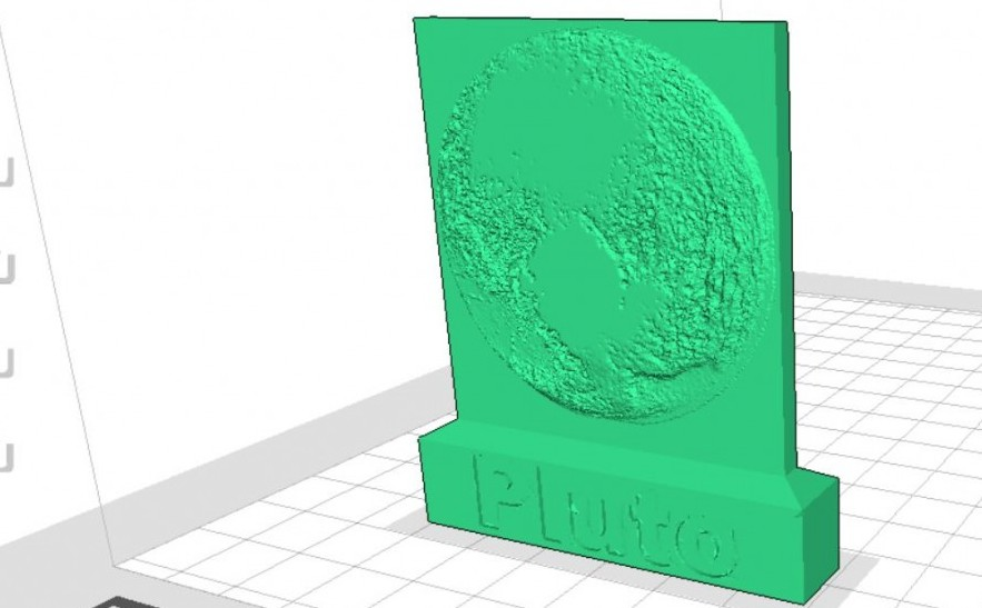 Commemorate the Pluto Flyby with This 3D Printable Plaque