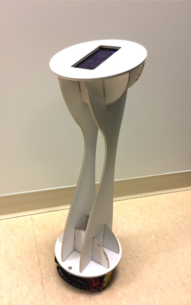 Foamcore telepresence robot