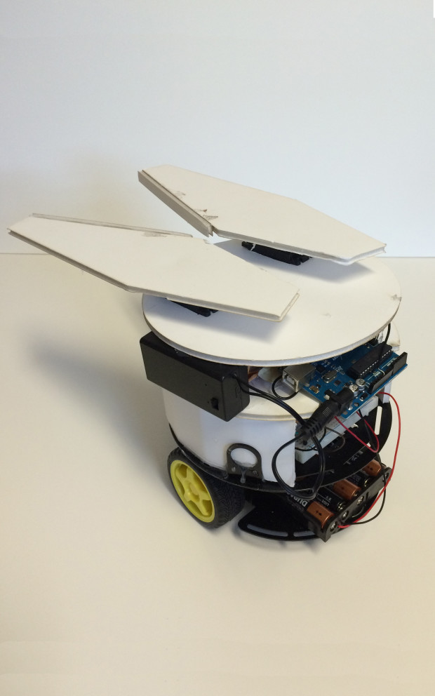 Foamcore robot