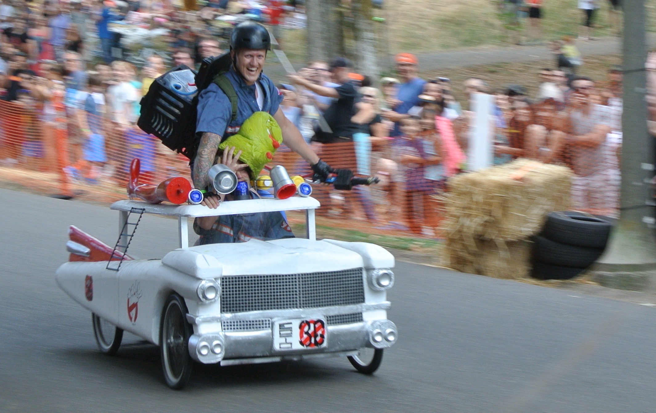 Soapbox Derby for Grownups Fills Portland with Wacky Racers