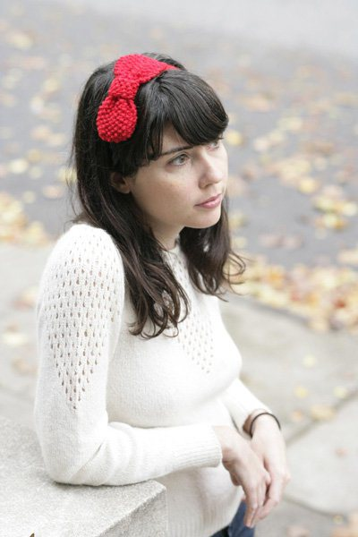 Flashback CRAFT Pattern: Knit Bow Headband