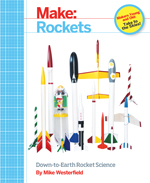 This project and many more can be found in our book Make: Rockets, Down to Earth Rocket Science.