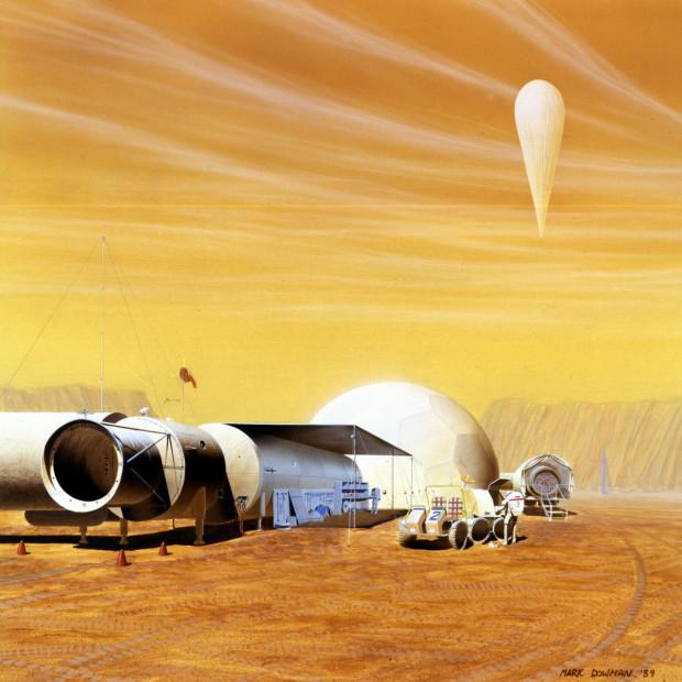 Mars-Habitat-artist-rendering