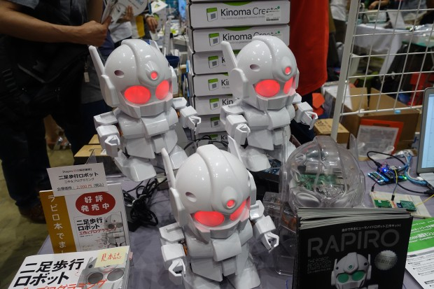 The Rapiro Robot was designed by Shota Ishiwatari