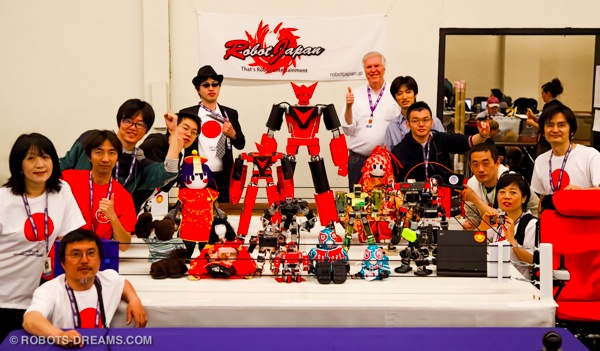 Lem with the Robot Japan team at RoboGames 2012.