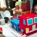 Watch: Optimus Prime Birthday Cake Actually Transforms