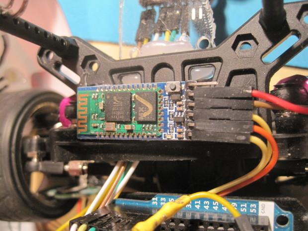 The Bluetooth HC-05 module