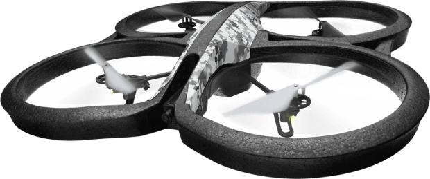 California bill SB-142 has already been Assembly approved but still needs Senate approval, which will limit drones like this Parrot AR Drone 2.0 from entering private property airspace.