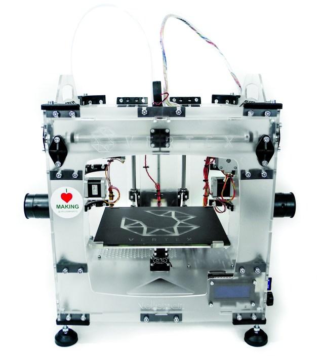 Velleman Vertex 3D Printer Kit: Two Extruders, Solid Value