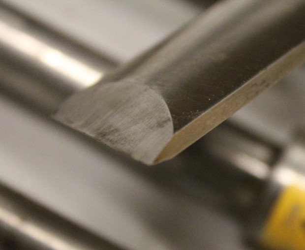 Cutting Profile of a Skew Chisel