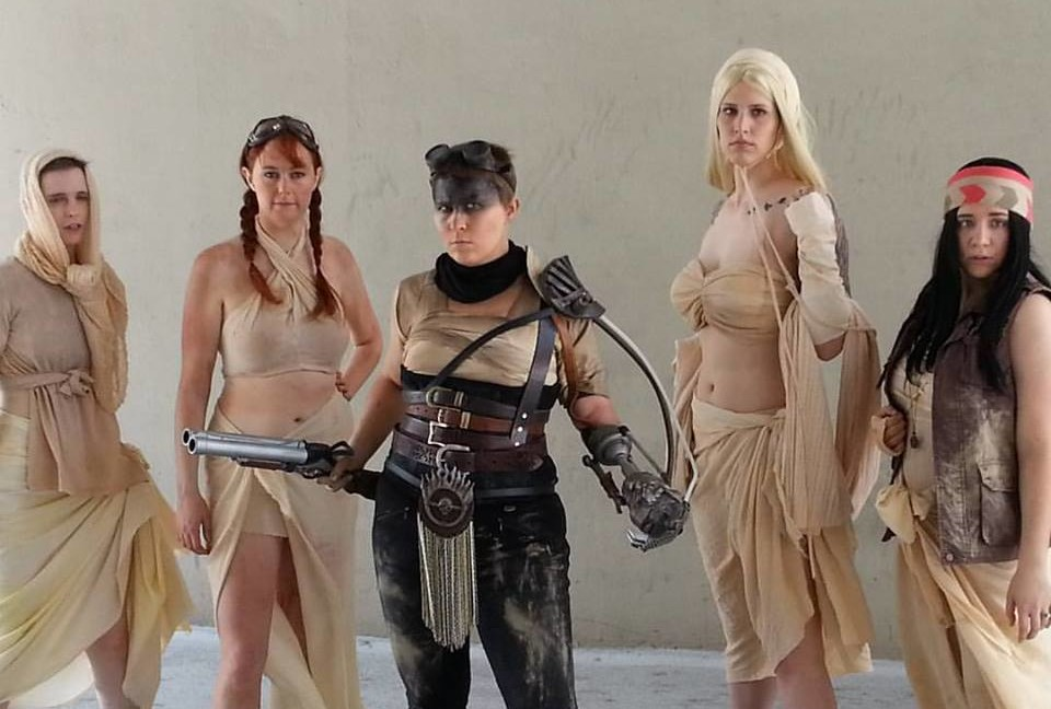 Prosthetic Arm Made Real for Amputee's Kickass Mad Max Cosplay