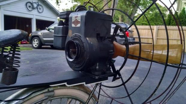 Mounted Motor