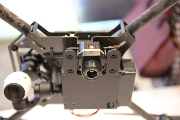 FLIR Vue Pro mounted to a DJI Matrice 100