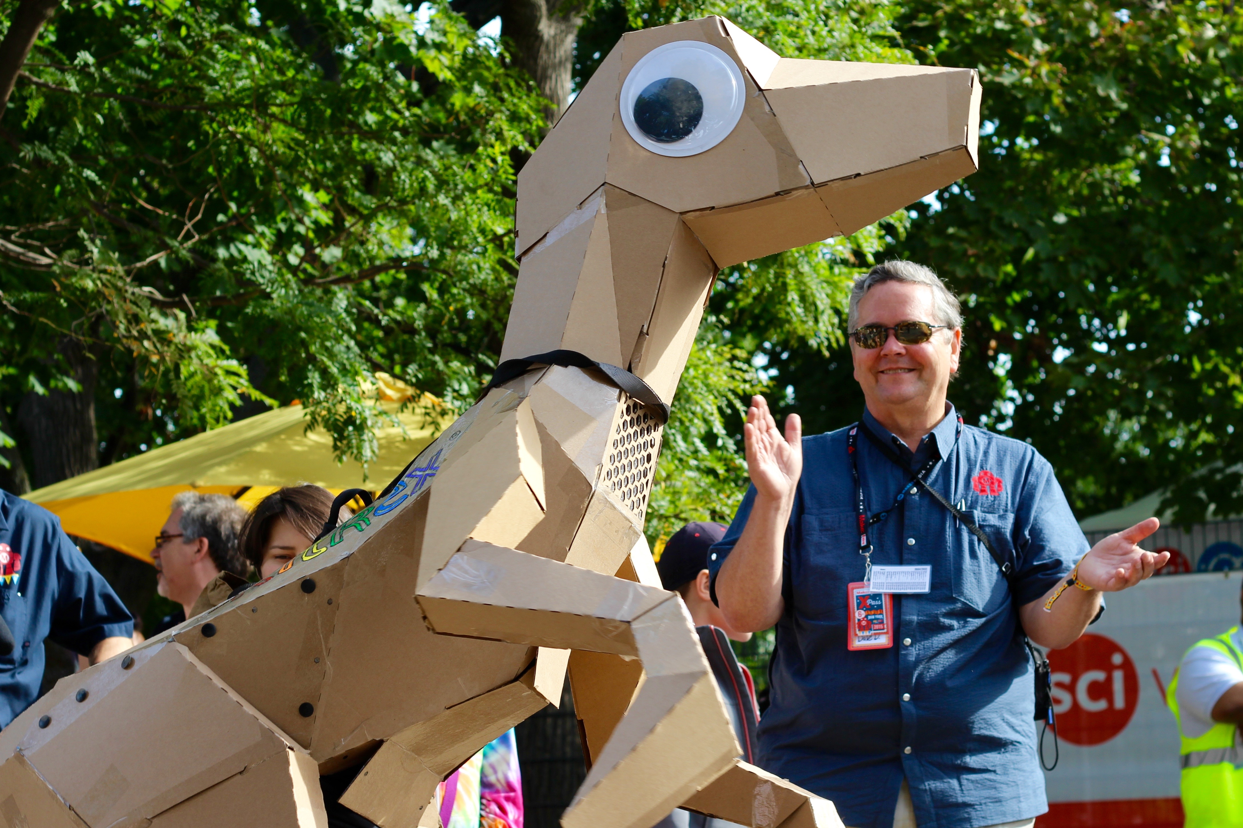 Makers Love Cardboard: 8 Awesome Projects from Maker Faire Prove It