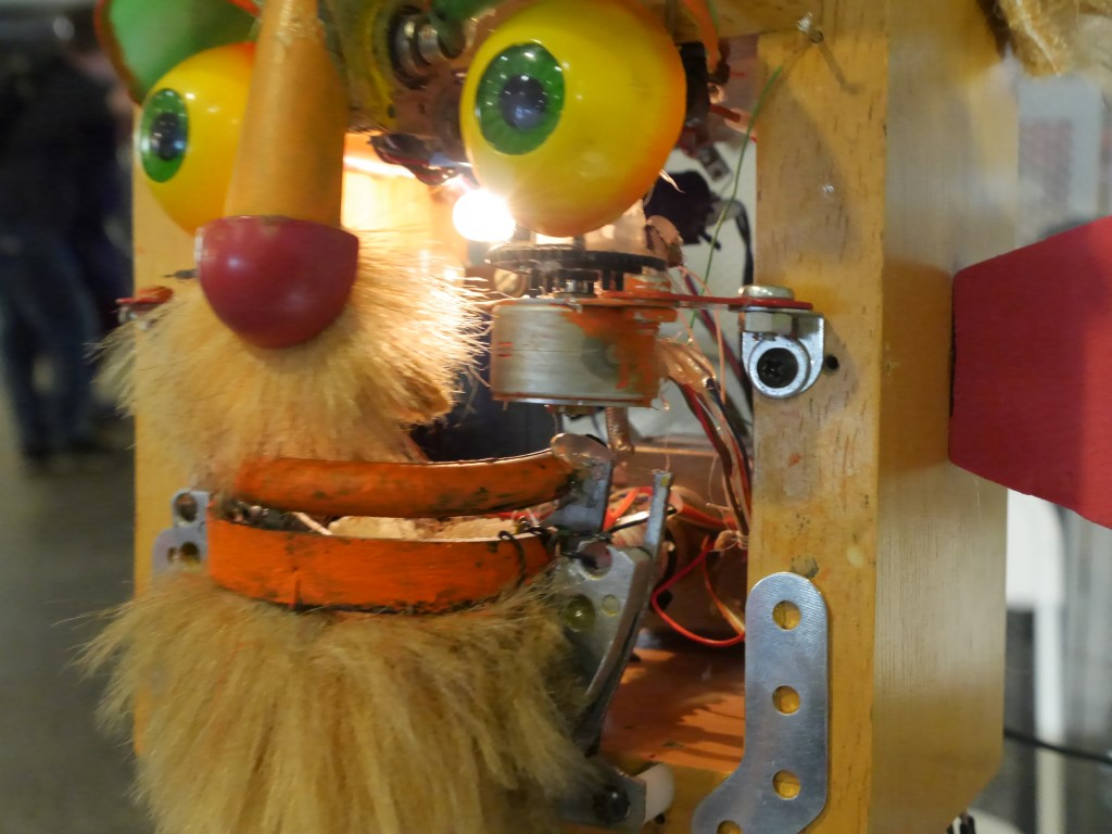 Finding Jim Henson in Junk: Animatronic Bots Will Make You Smile