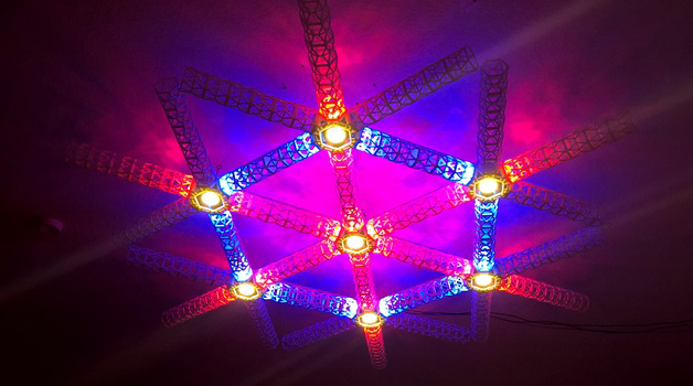 Modular Led Lamp Makes Your Whole Living Room A Lightshow