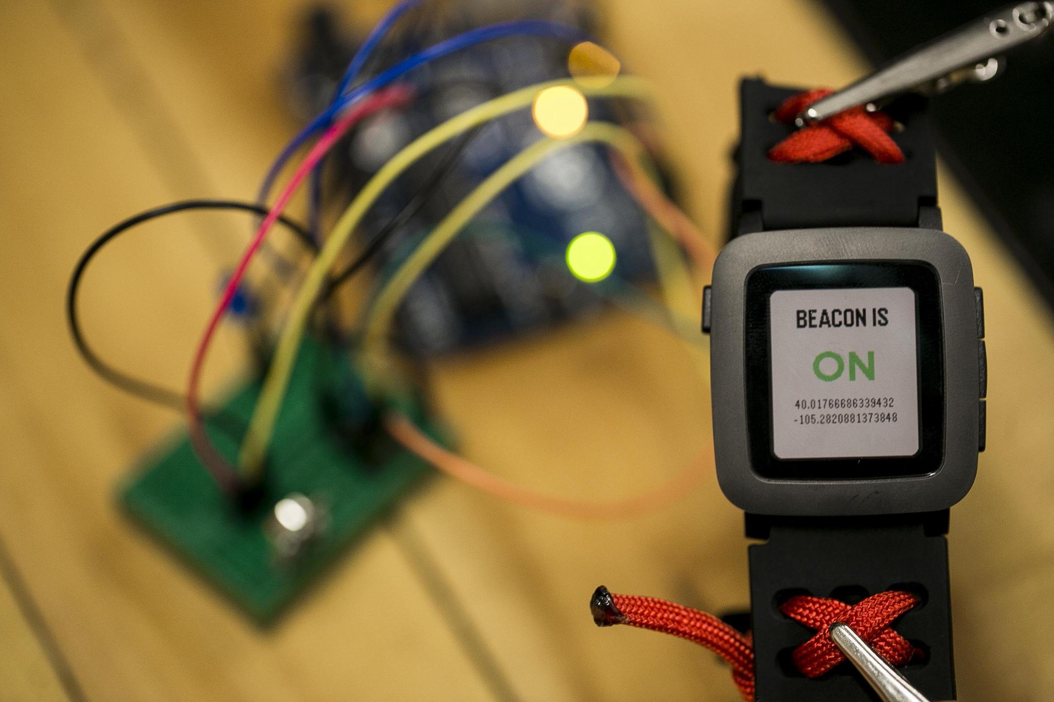 Hacking on the Pebble Smartstrap