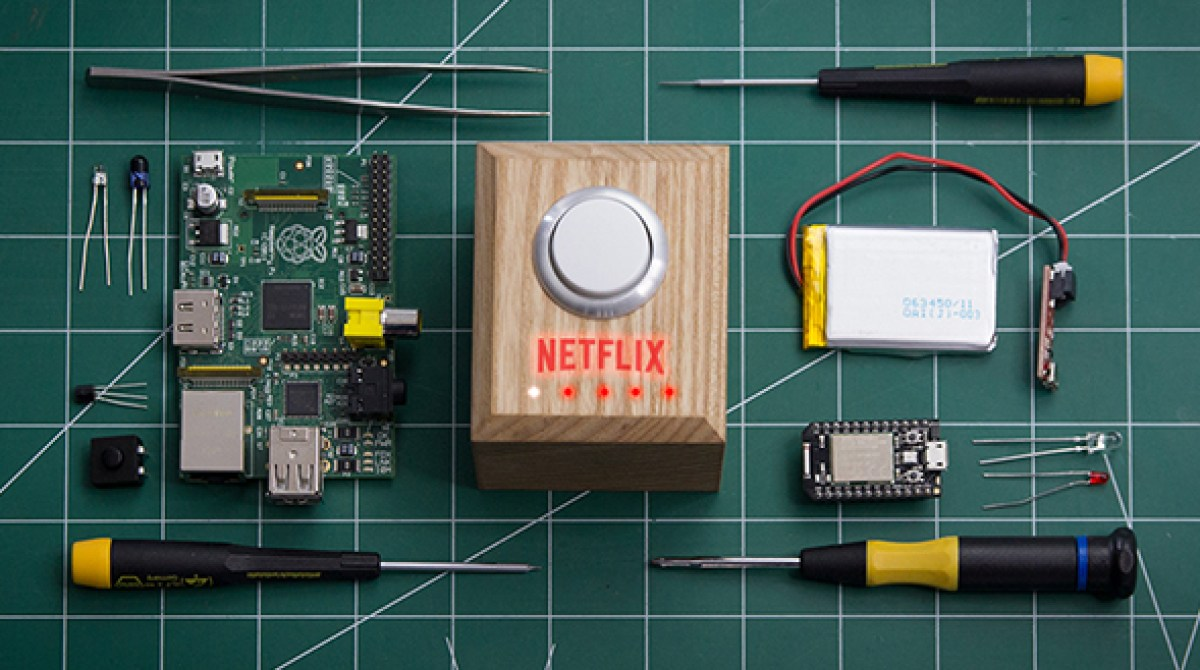 Lights Down, Pizza Ordered: Netflix Releases DIY 'Movie Night' Button