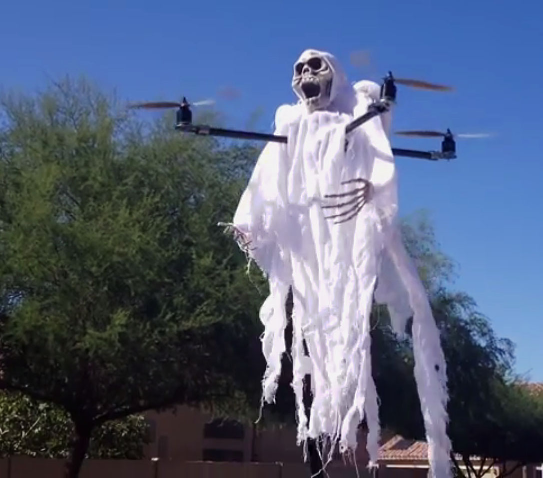 Freak Out Your Friends with These 6 Spooky Drone Mods